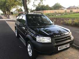 Land Rover Freelander, 2003 (03) Black Estate, Manual Diesel, 153,500 miles
