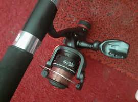 2 x float rods + reel combo