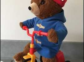 Paddington Bear Cycling Soft Toy