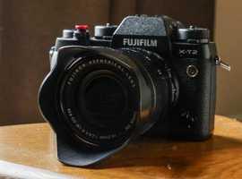 FUJI XT2 + 18-55mm F2.8 - 4 or Swap