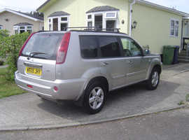 Nissan X-TRAIL, 2005 (05) Silver Estate, Automatic Petrol, 34,000 miles