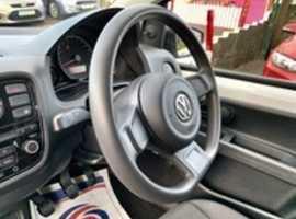 Registration Number: CV13 DHE. 2013/13 Volkswagen Up 1.0 Take Up! finished in Candy White.  57681 miles