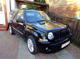 Jeep Patriot, 2010 (60) Black Estate, Manual Diesel, 48,165 miles