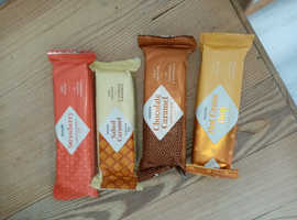 Xante protein bars X 72 for sale RRP£2.50 each