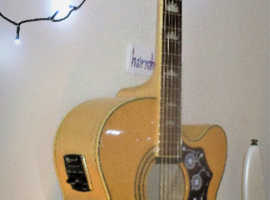 EPIPHONE EJ200 CE/N   Presented re-strung & Set-up.  In brilliant used condition. Player Ready to Perform