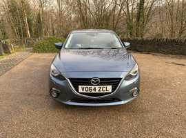 Mazda MAZDA 3, 2014 (64), Manual Diesel, 147,000 miles