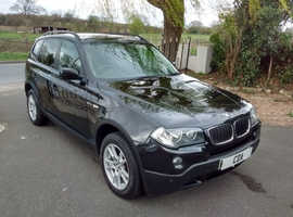 2008 BMW X3 2.0d SE 1 OWNER FULL SERVICE HISTORY