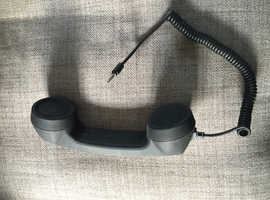 Skype Plug in hand phone.