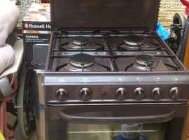 Cannon brown gas cooker