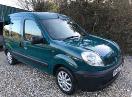 Renault Kangoo, 2005 (05) Green MPV, Manual Petrol, 84,000 miles