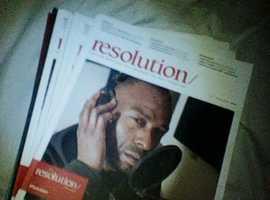 RESOLUTION RECORDING STUDIO MAGAZINE