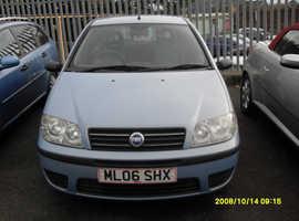 Fiat Punto, 2006 (06) Blue Hatchback, Manual Petrol, 120,833 miles