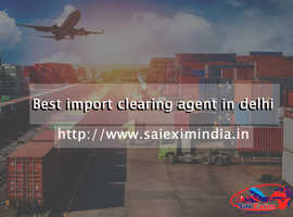 Finding import clearing agent in delhi?