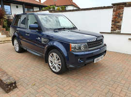 Land Rover Range Rover Sport, 2010 (10) Blue 4x4, Automatic Diesel, 69,000 miles