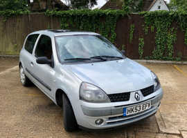 Renault Clio, 2003 (53) Silver Hatchback, Manual Petrol, 127,000 miles