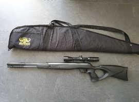 Walther lgu varmint  22 rowan engineering parts+hard case+tune