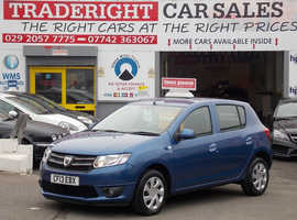 Dacia Sandero, 2013 (13) Blue Hatchback, Manual Petrol, 20,000 miles
