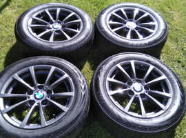 BMW 1 series / 3 series alloys and tyres