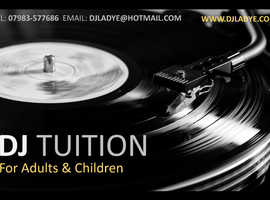 DJ Lessons for Adults & Children £30 phr