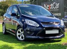 2013 Ford C-Max 1.6 TDCI Zetec Edition Fabulous Low Mileage Family Car....Only 1 Previous Keeper