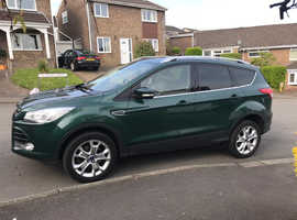 Ford Kuga, 2016 (66) Green Hatchback, Manual Diesel, 32,330 miles