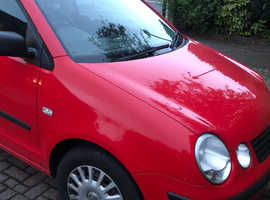 Volkswagen Polo, 2004 (54) Red Hatchback, Manual Petrol, 124,687 miles