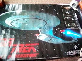 starship enterprize posters