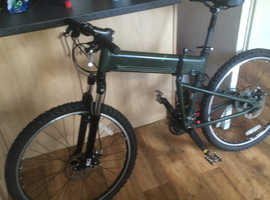 Montague paratrooper fully folding mountain bike