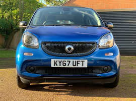 Smart Forfour, 2017 (67) Black Hatchback, Manual Petrol, 9,750 miles