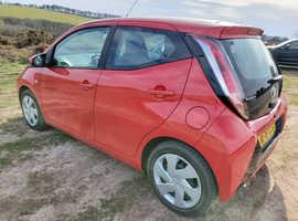 Toyota Aygo, 2018 (18) Red Hatchback, Cvt Petrol, 38,428 miles