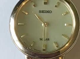 Seiko Solar powered ladies watch