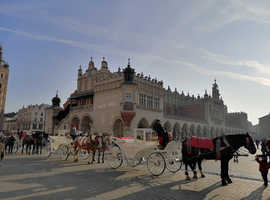 Cracow Self-contained flat for holiday rent suitable for family & shared renting. Discover first European city declared UNESCO World Heritage Site!