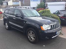 Jeep Grand Cherokee, 2010 (10) black estate, Automatic Diesel, 142,000 miles