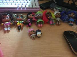 Huge lol dolls bundle