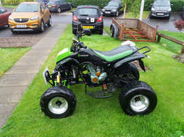 Road legal quadbike