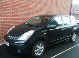 Nissan Note, 2006 (06) Black MPV, Automatic Petrol, 47,705 miles, 12 months Mot, Taxed until 05/21