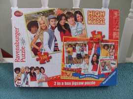 Jigsaw - High School Musical 2 in 1 jigsaws