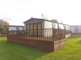 AMAZING GOLF COURSE VIEW LODGE FOR SALE, 12 MONTH PARK SPALDING WISBECH NORFOLK