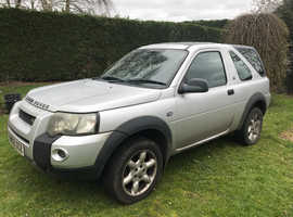Land Rover Freelander, 2005 (05) Silver Estate, Manual Diesel, 170,000 miles