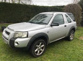 Land Rover Freelander, 2005 (05) Silver Estate, Manual Diesel, 177,000 miles