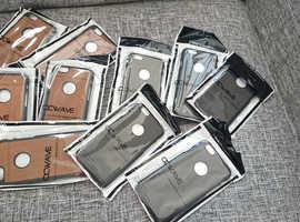 Wholesale Iphone 6/6s Cover Vintage Wood design Rigid Plastic Grey Orange Case Joblot