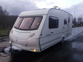 Ace Jubilee 2003 4 berth with motor mover and awning and everything you need to start touring