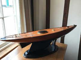 Model Sailing Boat No Sails