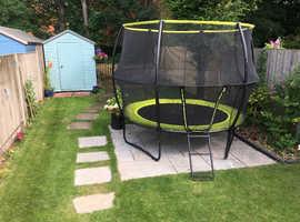 Rebo Base Jump 10 x 7FT Trampoline