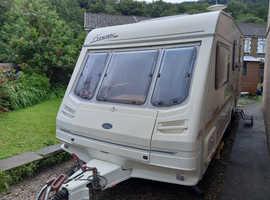 Sterling Finesse 4 berth family caravan 2000 model