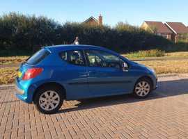 Peugeot 207, 2007 (07) Blue Hatchback, Manual Petrol, 82,845 miles