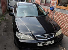 Honda Accord, 2001 (Y) Black Hatchback, Automatic Petrol, 99,500 miles
