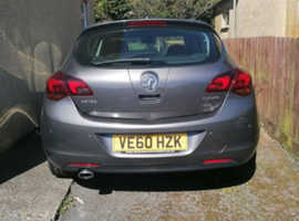 Vauxhall Astra, 2010 (60) Grey Hatchback, Manual Petrol, 109,000 miles