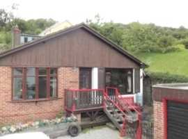 Detached bungalow Devon village