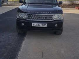 Range Rover, 2006 (06) Blue Estate, Automatic Diesel, 140,000 miles